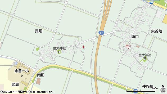 山形県東田川郡庄内町余目長畑1周辺の地図