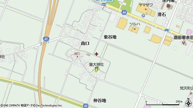 山形県東田川郡庄内町余目東谷地46周辺の地図