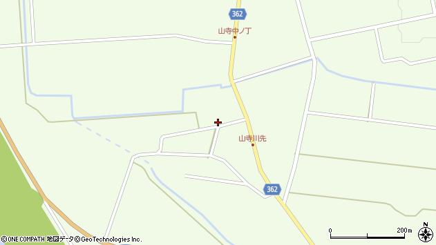 山形県酒田市山寺宅地61周辺の地図