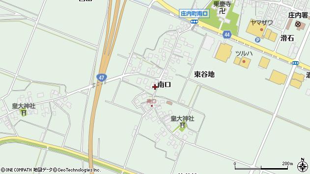 山形県東田川郡庄内町余目南口47周辺の地図