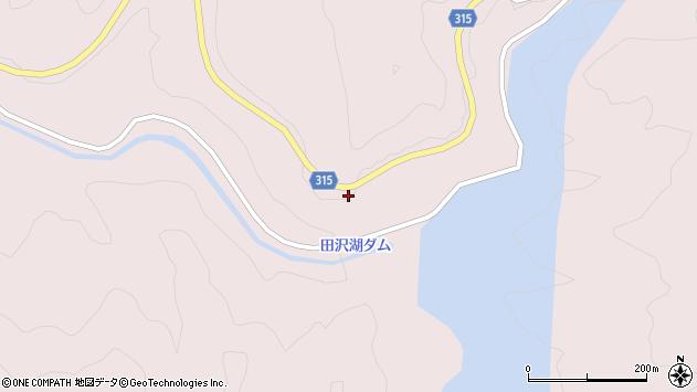 山形県酒田市山元奥山110周辺の地図