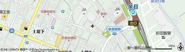 山形県東田川郡庄内町余目上朝丸154周辺の地図