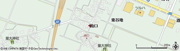 山形県東田川郡庄内町余目南口48周辺の地図