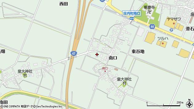 山形県東田川郡庄内町余目南口52周辺の地図