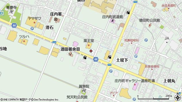 山形県東田川郡庄内町余目滑石50周辺の地図