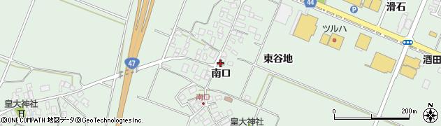 山形県東田川郡庄内町余目南口63周辺の地図