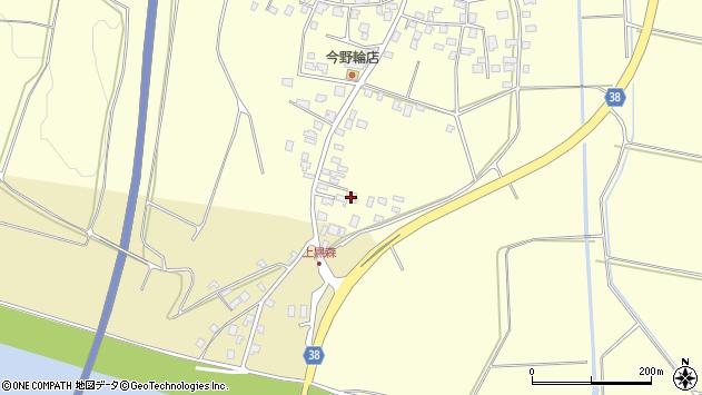 山形県酒田市黒森小浜周辺の地図