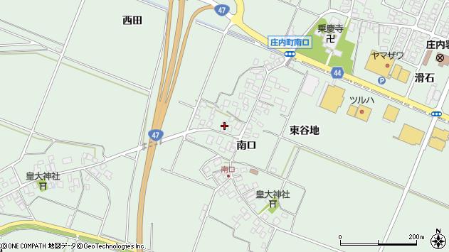 山形県東田川郡庄内町余目南口59周辺の地図