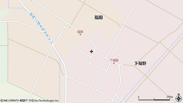 山形県東田川郡庄内町堀野下堀野45周辺の地図