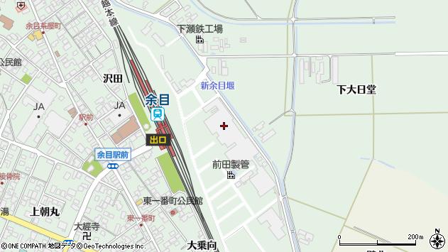 山形県東田川郡庄内町余目沢田15周辺の地図