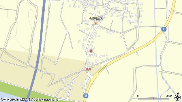 山形県酒田市黒森16周辺の地図