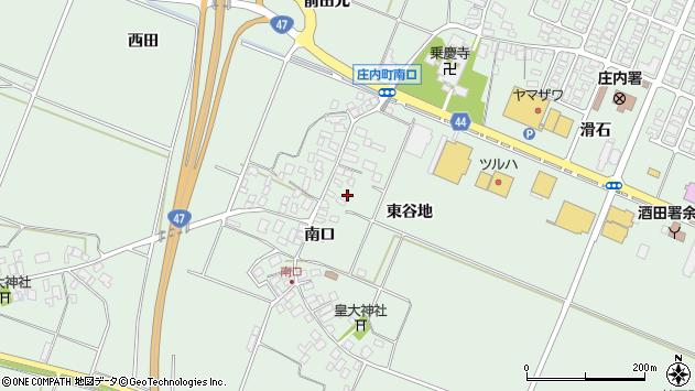山形県東田川郡庄内町余目南口79周辺の地図