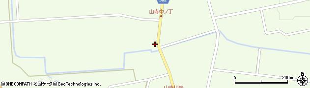 山形県酒田市山寺宅地89周辺の地図