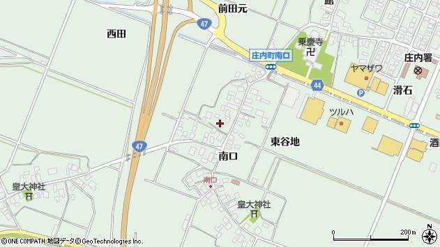 山形県東田川郡庄内町余目南口70周辺の地図