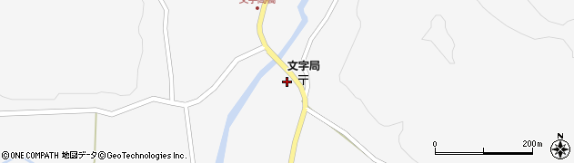 宮城県栗原市栗駒文字下川原周辺の地図