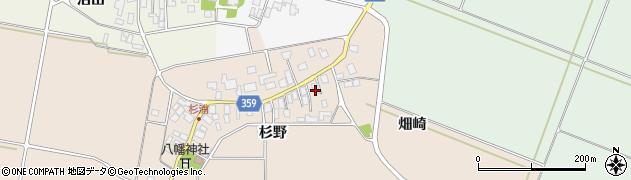 山形県東田川郡庄内町杉浦杉野42周辺の地図