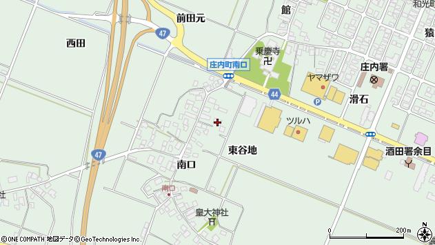 山形県東田川郡庄内町余目南口81周辺の地図