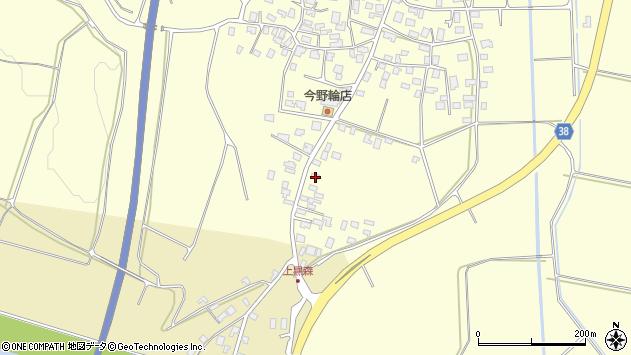 山形県酒田市黒森砂土端1周辺の地図