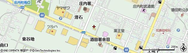 山形県東田川郡庄内町余目滑石45周辺の地図