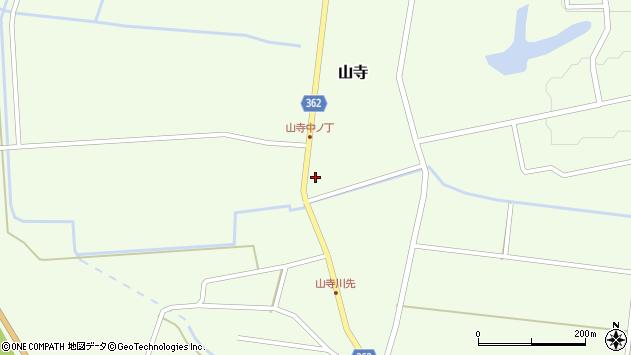 山形県酒田市山寺宅地106周辺の地図