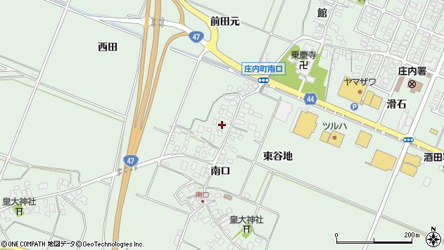 山形県東田川郡庄内町余目南口83周辺の地図