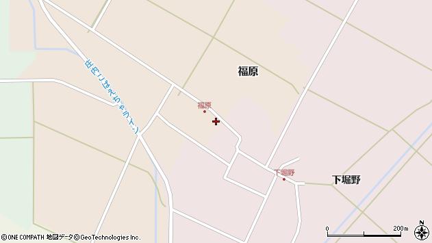山形県東田川郡庄内町福原石蔵2周辺の地図