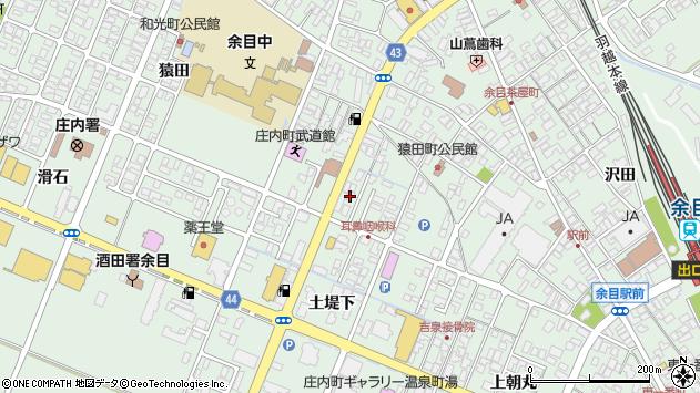 山形県東田川郡庄内町余目猿田91周辺の地図