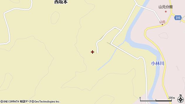 山形県酒田市西坂本村地11周辺の地図