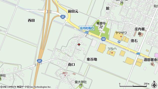山形県東田川郡庄内町余目南口100周辺の地図