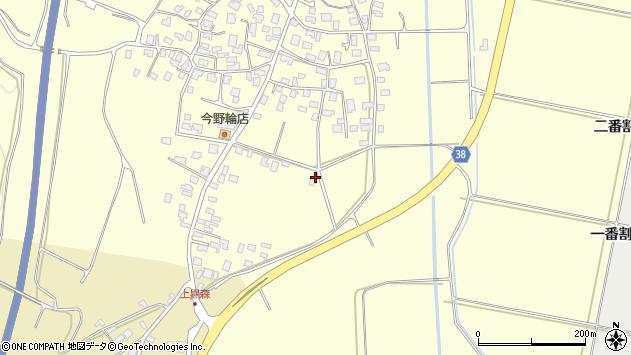 山形県酒田市黒森砂土端34周辺の地図