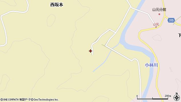 山形県酒田市西坂本村地12周辺の地図