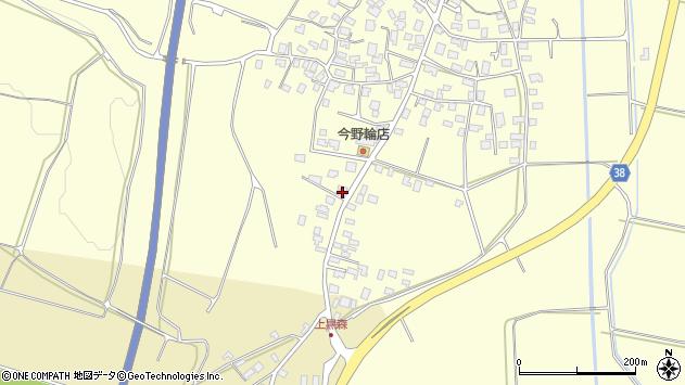 山形県酒田市黒森泊山16周辺の地図