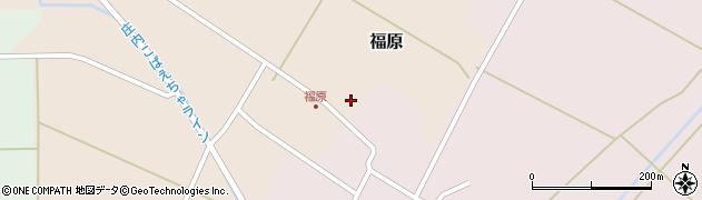 山形県東田川郡庄内町福原石蔵1周辺の地図