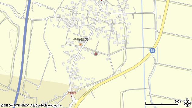 山形県酒田市黒森砂土端46周辺の地図