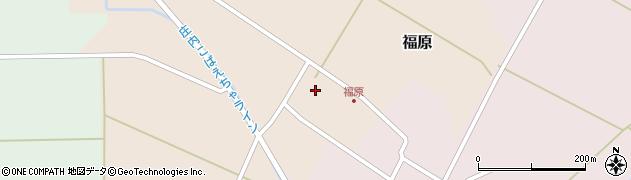 山形県東田川郡庄内町福原石蔵13周辺の地図