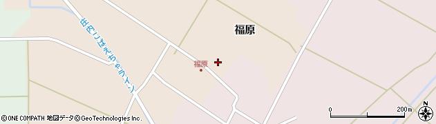 山形県東田川郡庄内町福原石蔵4周辺の地図