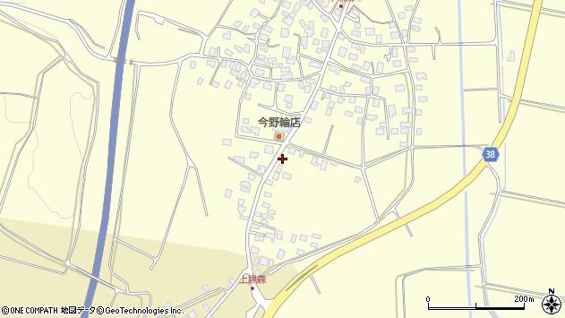 山形県酒田市黒森砂土端64周辺の地図