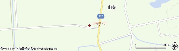 山形県酒田市山寺宅地116周辺の地図