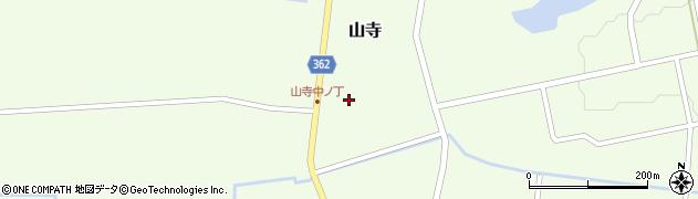 山形県酒田市山寺宅地120周辺の地図