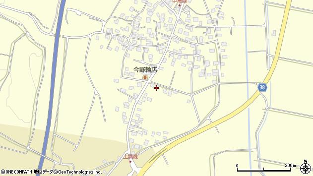 山形県酒田市黒森砂土端62周辺の地図