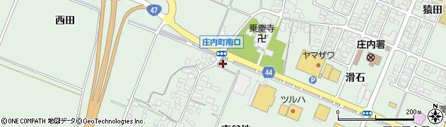 山形県東田川郡庄内町余目東谷地118周辺の地図