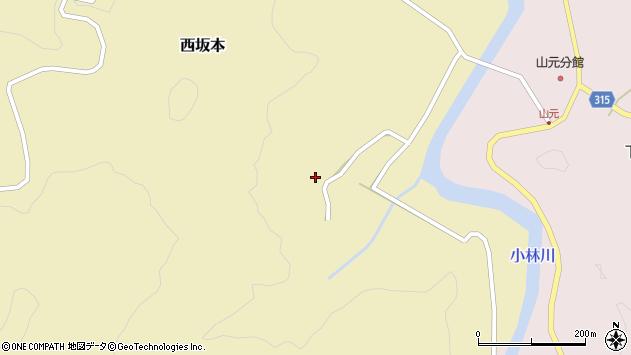山形県酒田市西坂本村地17周辺の地図