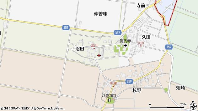 山形県東田川郡庄内町深川沼田30周辺の地図