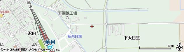 山形県東田川郡庄内町余目月屋敷214周辺の地図
