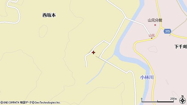 山形県酒田市西坂本村地23周辺の地図