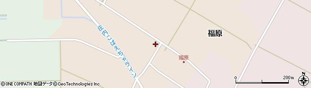 山形県東田川郡庄内町福原石蔵22周辺の地図