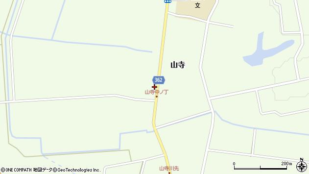 山形県酒田市山寺宅地125周辺の地図