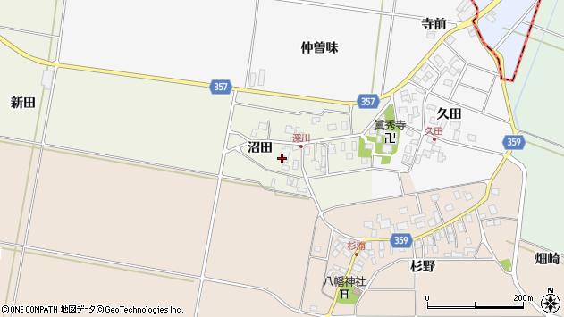 山形県東田川郡庄内町深川沼田49周辺の地図