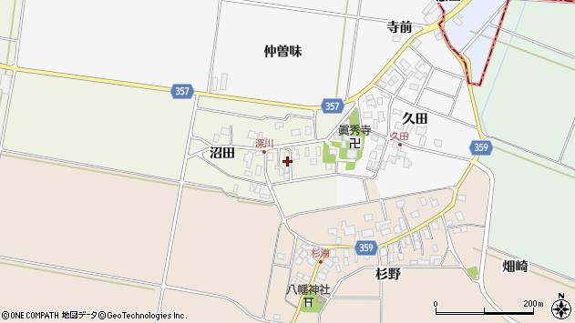 山形県東田川郡庄内町深川沼田29周辺の地図