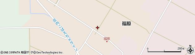 山形県東田川郡庄内町福原石蔵19周辺の地図